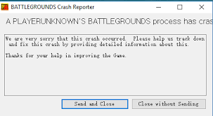 pubg crashing game crash when clicking on settings archive playerunknown s