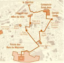 map of perpignan region city of perpignan pyrénées orientales tourism board