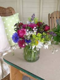 wedding flowers jam jars pretty country flowers for a let them eat hay