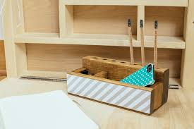 How To Make Desk Organizers by How To Make A Desktop Organizer Home Improvement Projects To