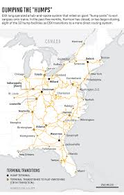 csx railroad map csx harrison s billion dollar plan for transportation