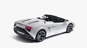 Lamborghini Gallardo Back - lamborghini unveils refreshed 2013 gallardo spyder range
