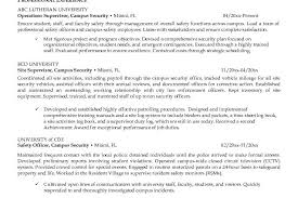 Security Officer Job Description For Resume by Security Officer Resume Pdf Campus Security Officer Resume Jk