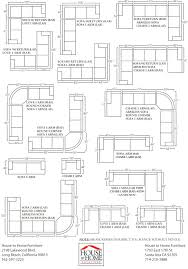 how long is a standard sofa sectional sofa dimensions standard home design