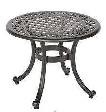 Patio Side Tables Amazon Com Meadow Decor 2619 45 Kingston Side Table Black