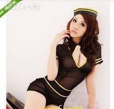 Halloween Flight Attendant Costume Flight Attendant Stewardess Halloween Costume Sale