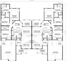 Multi Family Home Floor Plans 18 Best Duplex Design Images On Pinterest Duplex Design