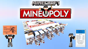 Monopoly Map Monopoly In Minecraft Mineopoly U2022 Trailer 100 Automatic