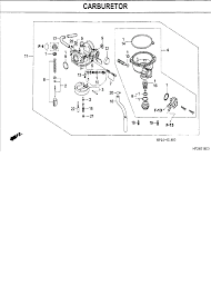 honda trx 90 carburetor diagram honda trx 90 carb cleaning