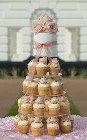 Cupcake Wedding Cake Cupcake Tower U0026 Cakes Custom Decorated Cupcakes Beautifully