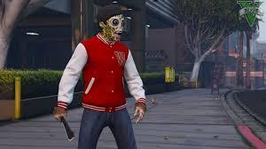 halloween dlc masks for free mode male female gta5 mods com