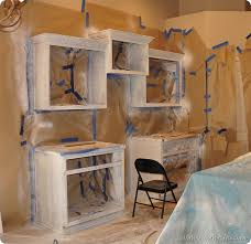Paint Over Kitchen Cabinets How To Paint Your Kitchen Cabinets Professionally All Things
