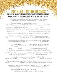 2016 new year u0027s eve games printable trivia games everyone will love