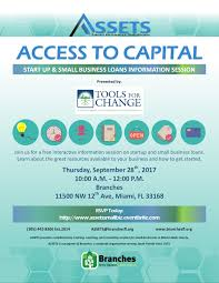 Miami Dade College Wolfson Campus Map by Access To Capital With Tools For Change Tickets Thu Sep 28 2017