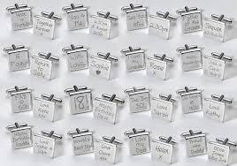 personalized wedding cufflinks wedding day cufflinks groom wedding tips and inspiration