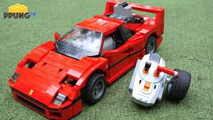 ferrari lego lego 10248 ferrari f40 rc motorized f40 review by 뿡대디 youtube
