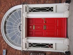 Front Door Red by Red Georgian Door With Fan Light Dublin Ireland My Love
