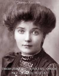 women hairstyle france 1919 edwardian ladies coiffure the french roll pompadour the low