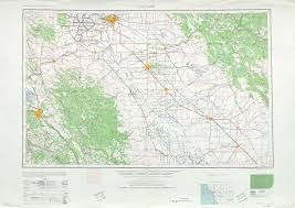 Topographic Map United States by San Jose Topographic Map Sheet United States 1956 Full Size