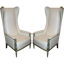 Overstuffed Arm Chair Design Ideas High Wing Back Armchair Tall Back Accent Chairs High Back Leather