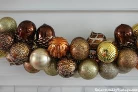 how to make ornament garland