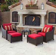 Faux Stone Planters by Incredible Red Star Patio Furniture Also A Pair Of Large Wrought