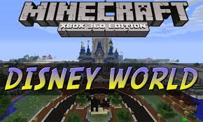 Disney World Magic Kingdom Map Xbox Minecraft Hunger Games