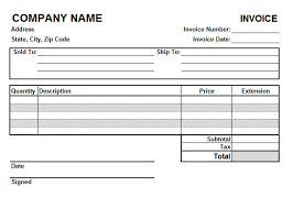349176304881 invoice reports word invoice doc template with