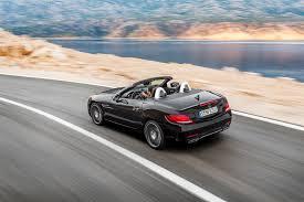convertible mercedes 2000 mercedes benz slc class convertible review 2016 parkers