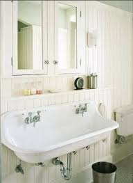 bathroom trough sink wall mounted trough sink foter