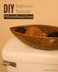 Diy Bathroom Makeover Ideas - diy bathroom remodel marketreadyhome meet penny