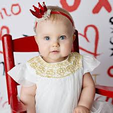 lace headwear 2017 baby girl crown headband princess crown hair band pearl tiara