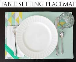 table setting placemat tutorial table setting placemat sewing