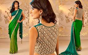 Unique Stylish Trendy Indian House Simple Stylish Trendy Blouse Back Neck Net Sleeve Designs