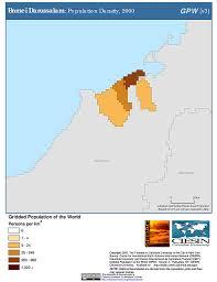 Tonga Map Maps Population Density Grid V3 Sedac
