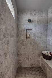 Master Shower Ideas by Zero Entry Walk In The Master Shower With Shave Ledge And Tile