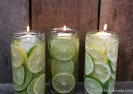Vases With Floating Candles Easy Mason Jar Centerpieces Hoosier Homemade