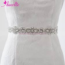 wedding dress belts new 2017 hot shiny rhinestone pearl wedding belts and sashes