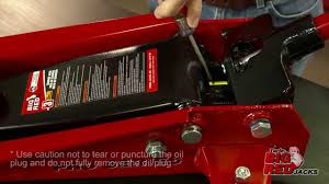 Craftsman Atv Jack Parts by How To Bleed A Jack Service Jack Youtube