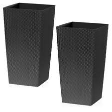 unbranded square flower u0026 plant tall planters boxes ebay