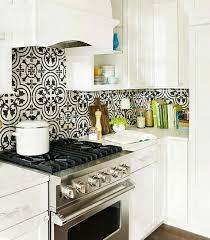 carreaux de ciment cuisine carreau de ciment cuisine inspirations avec dosseret de cuisine
