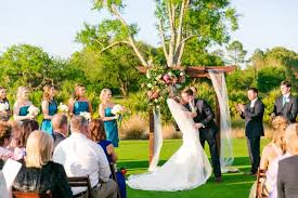 wedding arbor used a colorful glam charleston wedding ruths house event rentals
