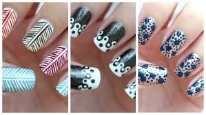 nail art beautiful easy nail art how to do designs at homenail