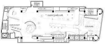 beauty salon floor plans barbie shanghai store by slade architecture