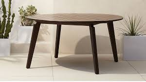 cb2 round dining table artemis outdoor round dining table reviews cb2