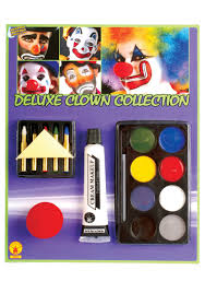 halloween makeup kits pennywise the clown costumes halloweencostumes com