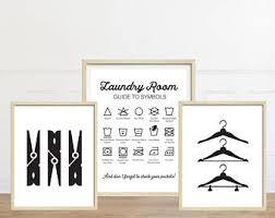 Laundry Room Hangers - laundry room art etsy