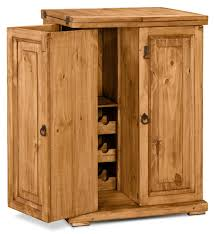 Solid Pine Wardrobes Santa Fe Rusticos Solid Pine Unfolding Bar The Brick