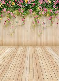 only 25 00 flower vine wood photography backdrops easter basket