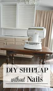 Wall Nails by Simple Shiplap How To Diy A Planked Wall With No Nails